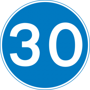 minimum speed limit