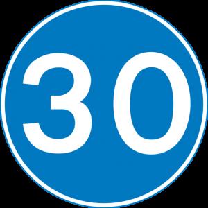 minimum speed limit