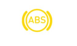 ABS warning dashboard
