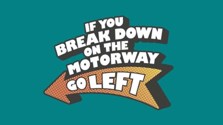 Highways england keep left campaign